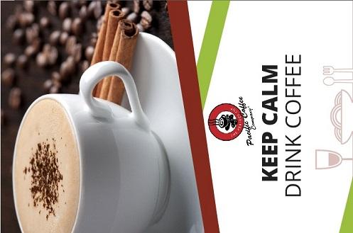 Pacific Coffee Poster Design